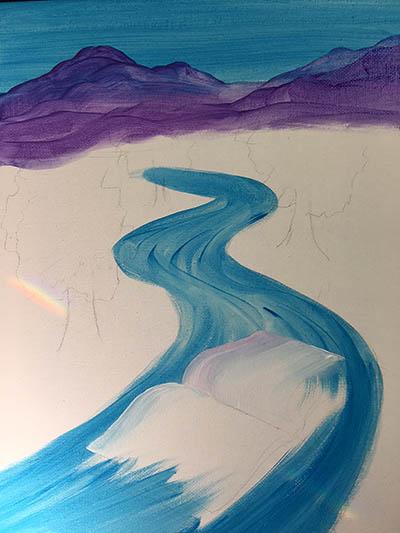 Beginning canvas